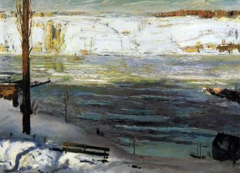 George Bellows : Floating Ice