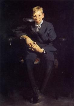 George Bellows : Frankie the Organ Boy