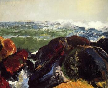 George Bellows : Monhegan Island