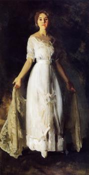 George Bellows : Mrs Albert M Miller