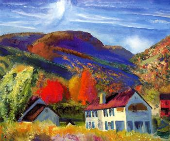 George Bellows : My House, Woodstock