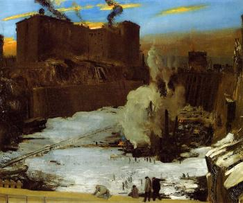 George Bellows : Pennsylvania Station Excavation
