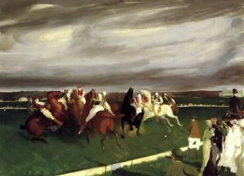George Bellows : Polo at Lakewood