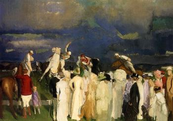 George Bellows : Polo Crowd