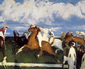 George Bellows : Polo Game