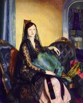 George Bellows : Portrait of Elizabeth Alexander