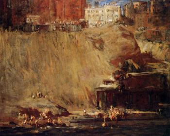 George Bellows : River Rats
