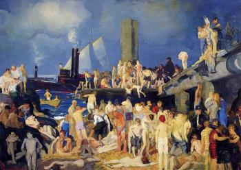 George Bellows : Riverfront