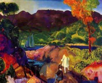 George Bellows : Romance of Autumn