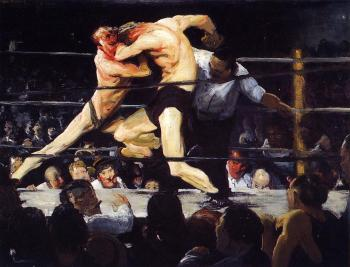 George Bellows : Stag Night at Sharkey's