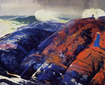 George Bellows : Summer Surf