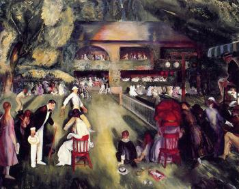 George Bellows : Tennis at Newport