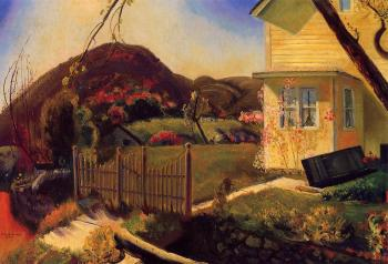 George Bellows : The Picket Fence