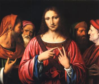 Bernardino Luini : Christ Among the Doctors