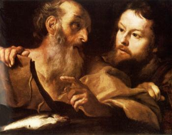 Gian Lorenzo Bernini : Saint Andrew and Saint Thomas