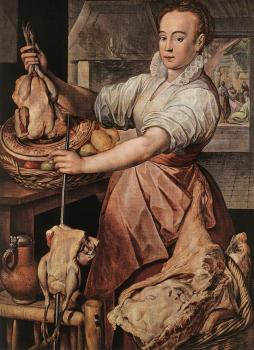 Joachim Beuckelaer : The Cook