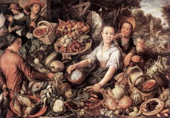 Joachim Beuckelaer : The Vegetable Market