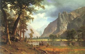 Albert Bierstadt : Yosemite Valley