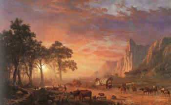 Albert Bierstadt : The Oregon Trail