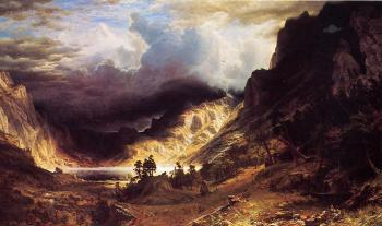 A Storm in the Rocky Mountains Mr Rosalie