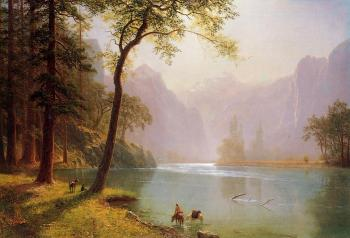 Albert Bierstadt : Kern's River Valley California