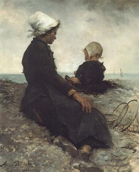 Anna Bilinska-Bohdanowicz : At the Seashore