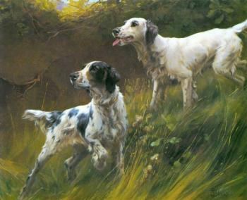 Thomas Blinks : Two English Setters