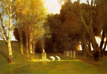 Amold Bocklin : The Sacred Wood