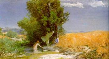 Amold Bocklin : Nymphs Bathing