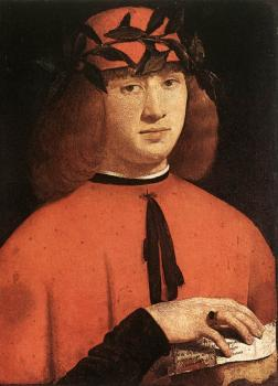 Giovanni Antonio Boltraffio : Portrait of Gerolamo Casio