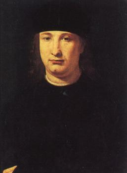 Giovanni Antonio Boltraffio : The Poet Casio