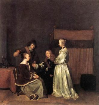 Gerard Ter Borch : The Visit
