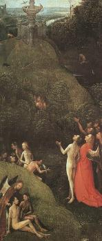 Terrestrial Paradise, from the Paradise and Hell panels normally attributed to Bosch