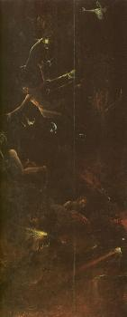 Fall of the Damned, from the Paradise and Hell panels normally attributed to Bosch