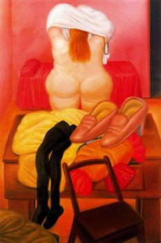 Still Life with Woman Undressing