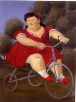 Fernando Botero : Canvas painting