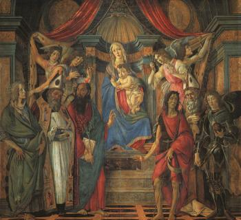 San Barnaba Altarpiece (Madonna Enthroned with Saints)