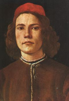 Sandro Botticelli : Portrait of a Young Man II