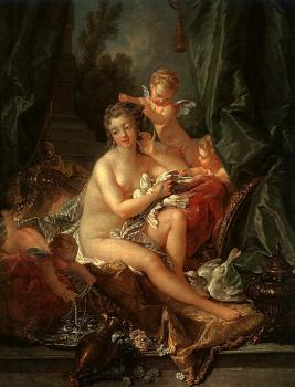 Francois Boucher : The Toilet of Venus