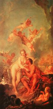 Francois Boucher : The Visit of Venus to Vulcan