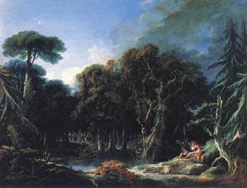Francois Boucher : The Forest