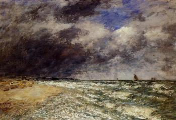 Eugene Boudin : A Squall from Northwest