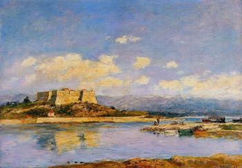 Eugene Boudin : Antibes, Fort Carre