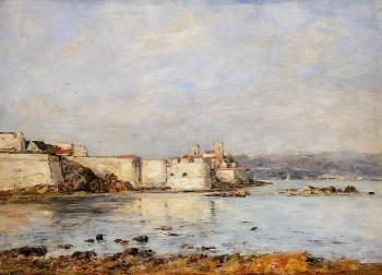 Eugene Boudin : Antibes, the Fortifications