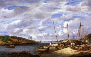 Douarnenez, Fishing Boats at Dockside