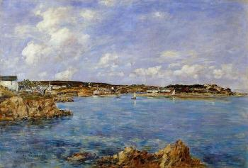 Douarnenez, the Bay, View of Ile Tristan