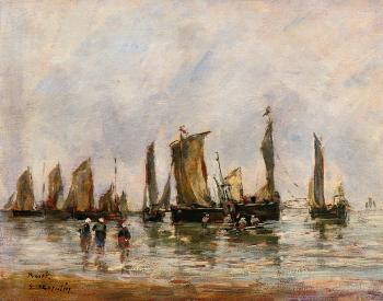 Fishing Boats at Berck