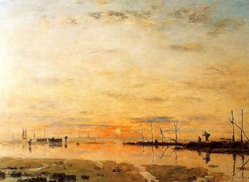 Le Havre, Sunset at Low Tide