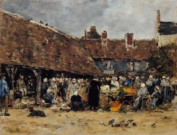 Market at Trouville II