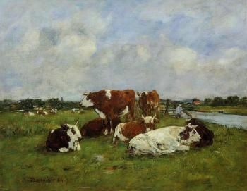 Pasturage on the Banks of the Touques